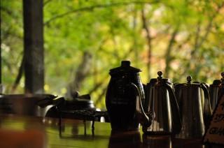 2011/11/27 11:15 鹿ヶ谷にてオオヤコーヒチームの到着を待ちながら
