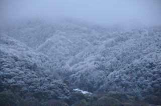2012/01/04 17:04 雲が晴れた隙に