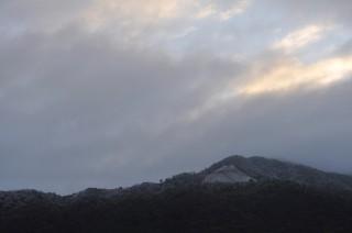 2012/12/19 07:22 うっすらと、雪化粧