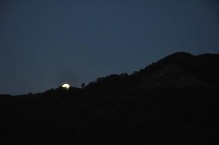 2013/09/19 18:20 仲秋の名月さま、おでまし。